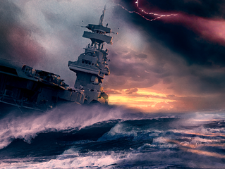 More Apocalyptic Seascapes!