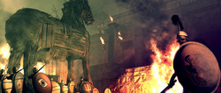 Highlander Troy Trojan Horse