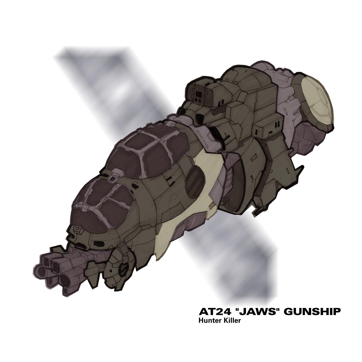 Gun ship AT24