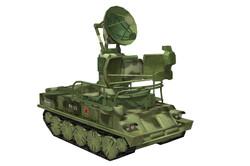 SA6 Radar 3 quarter view
