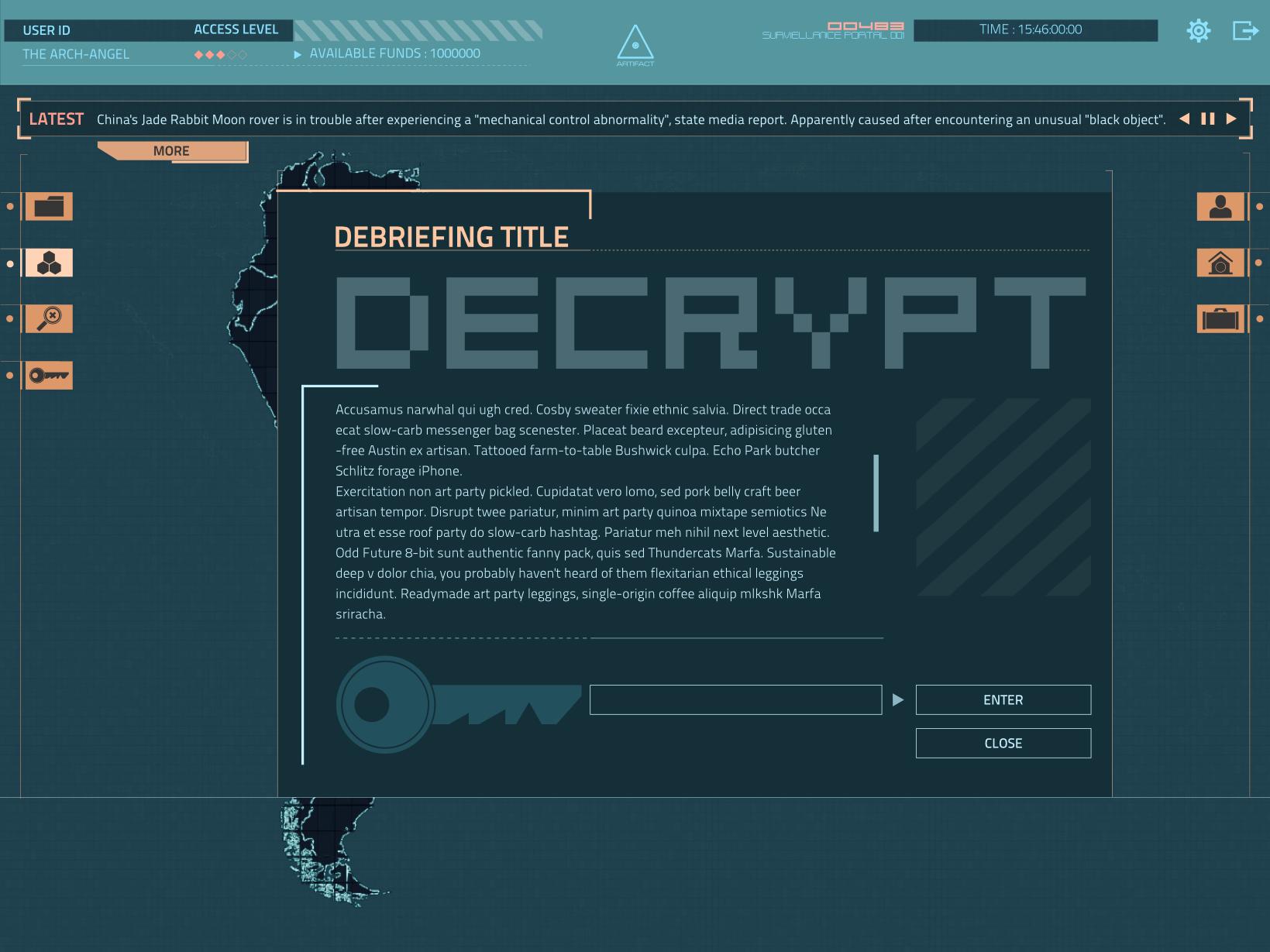 Trade_Main Mission DeBrief Decrypt minga