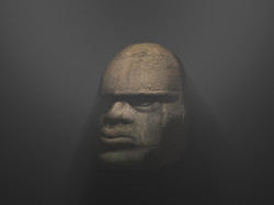 Mayan Head Prop