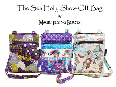 The Brand New Sea Holly Bag Pattern!