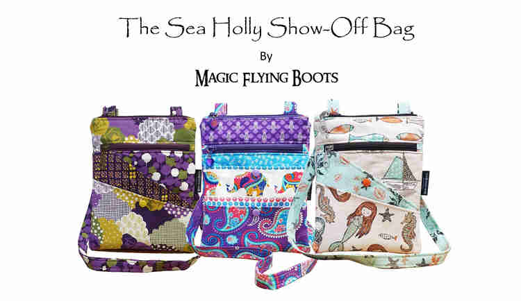The Sea Holly Show-Off Bag Pattern