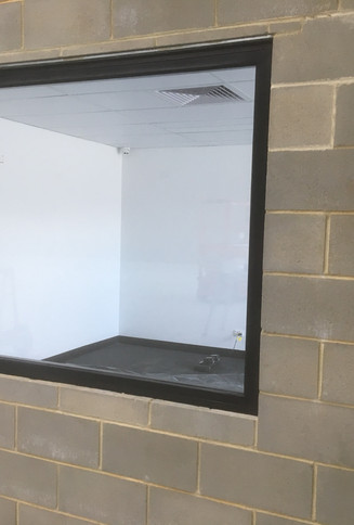Fixed Steel Framed Fire Rated Window - N