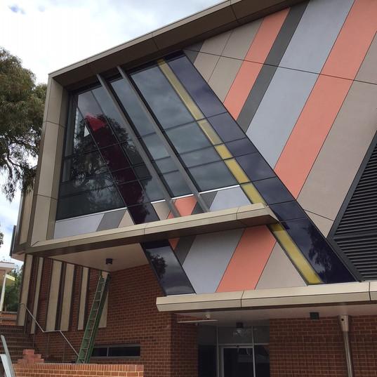 Scotch College Perth WA 2 Curtain Wall