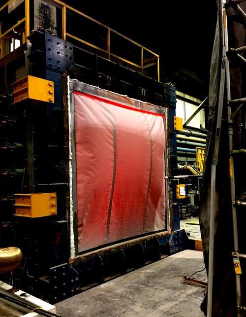 Vertical Kent Defender Fire Curtain