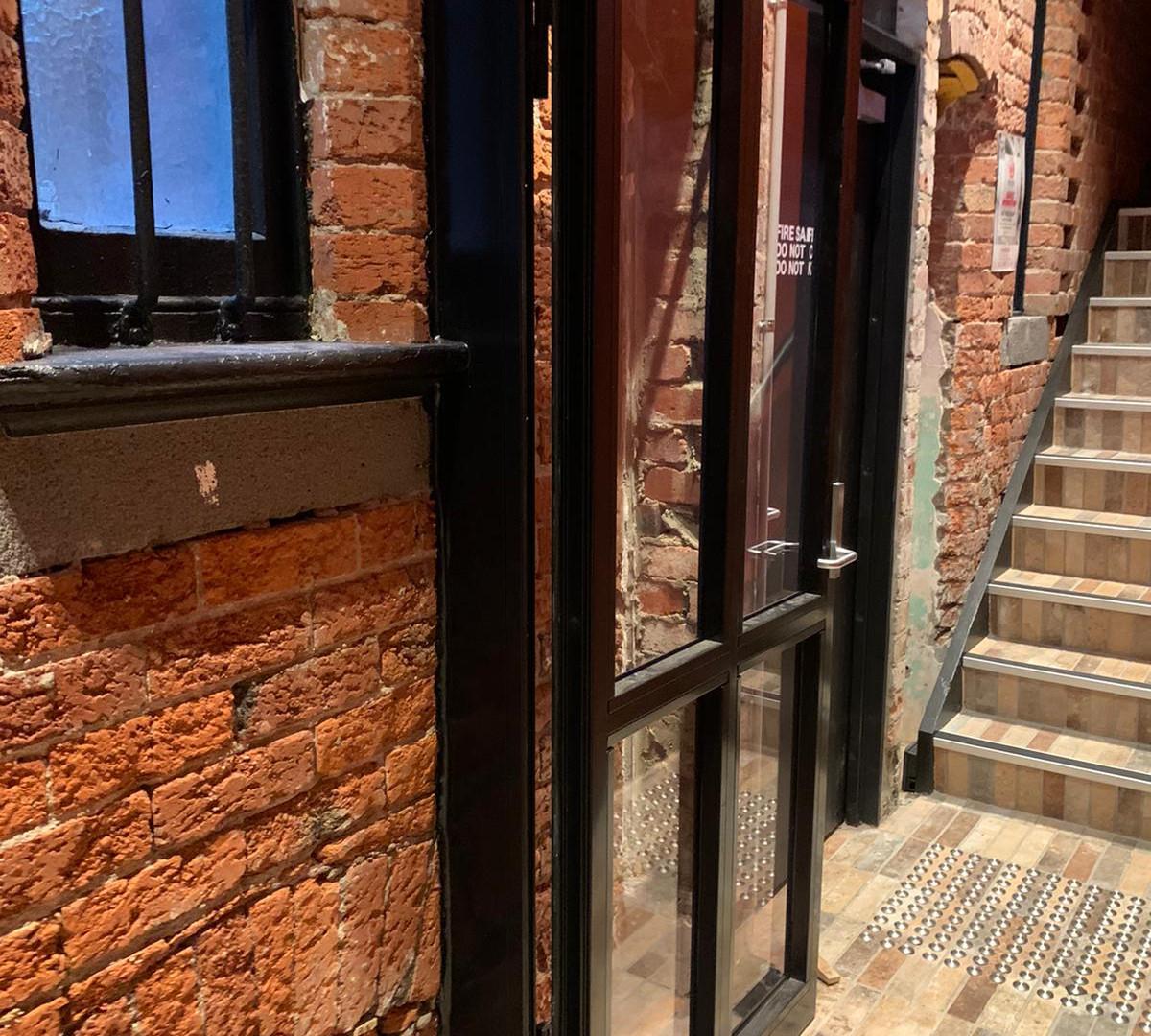 Defender Glass Fire Door