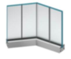 Aluminium fire Windows