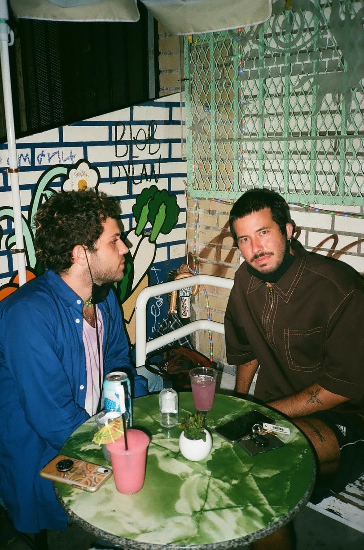 Devon and Ben at the bar