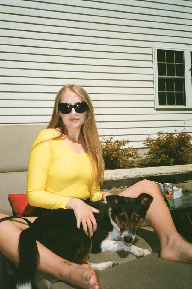 Andrea in the sun