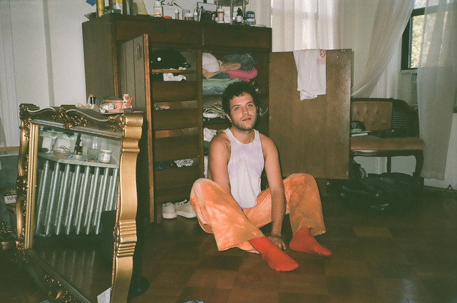 Ben on floor