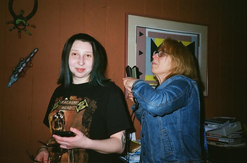 Michaela and Wendy