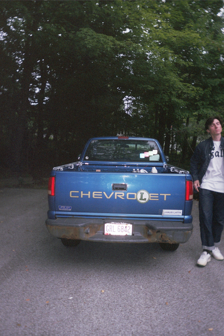 DAVID WITH TRUCK