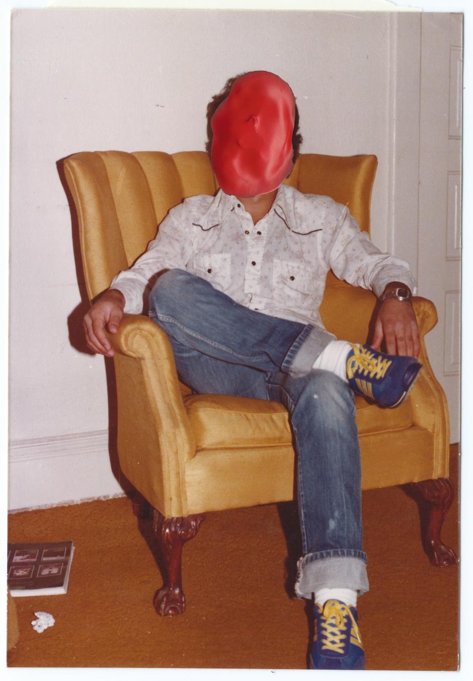 SEATED, LISTENING