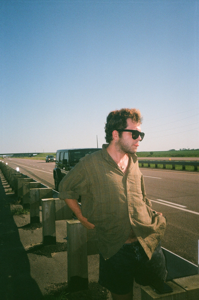 Ben on the road