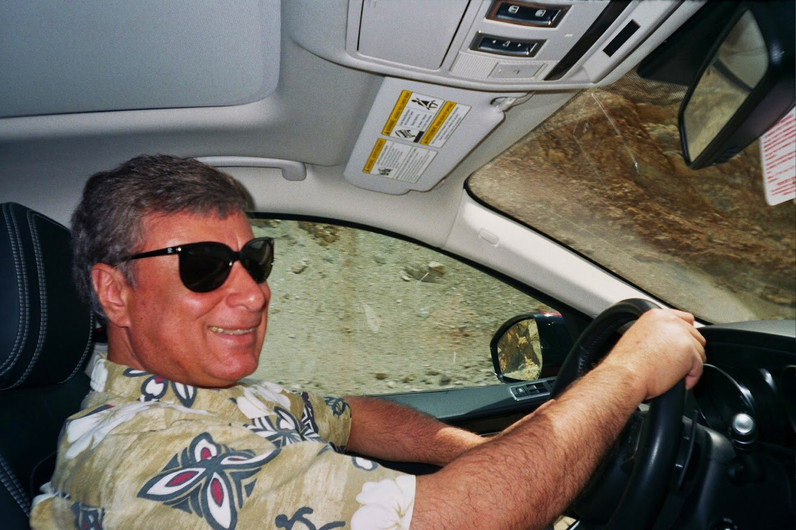 DAD IN THE CAR