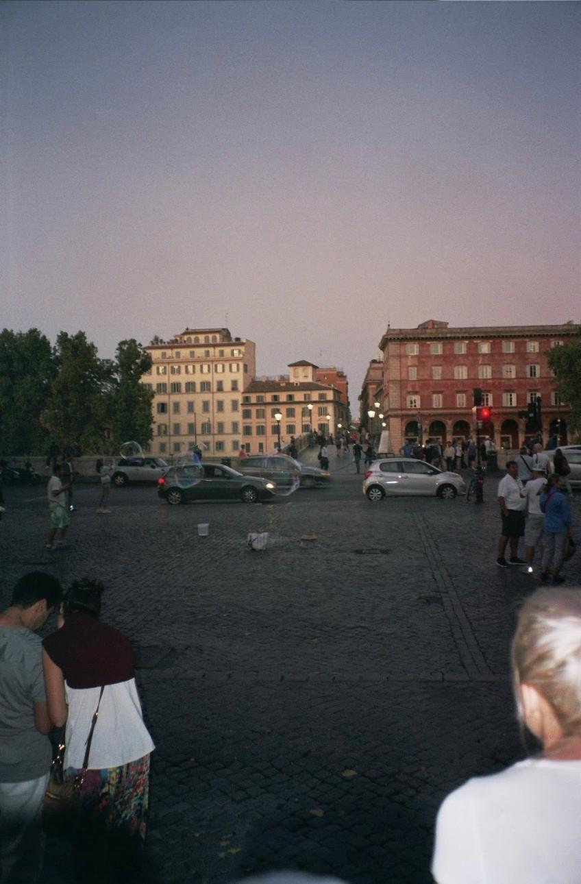 DAVID'S VIEW IN ROME