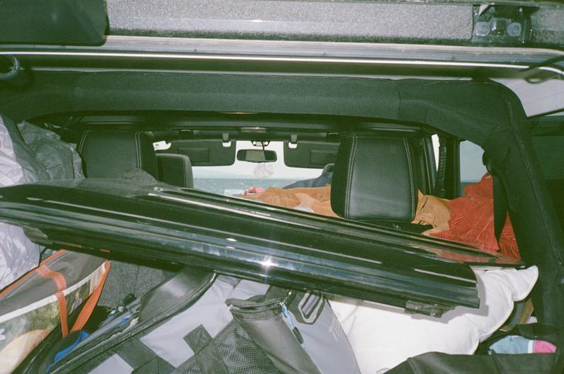 Car in Yellowstone