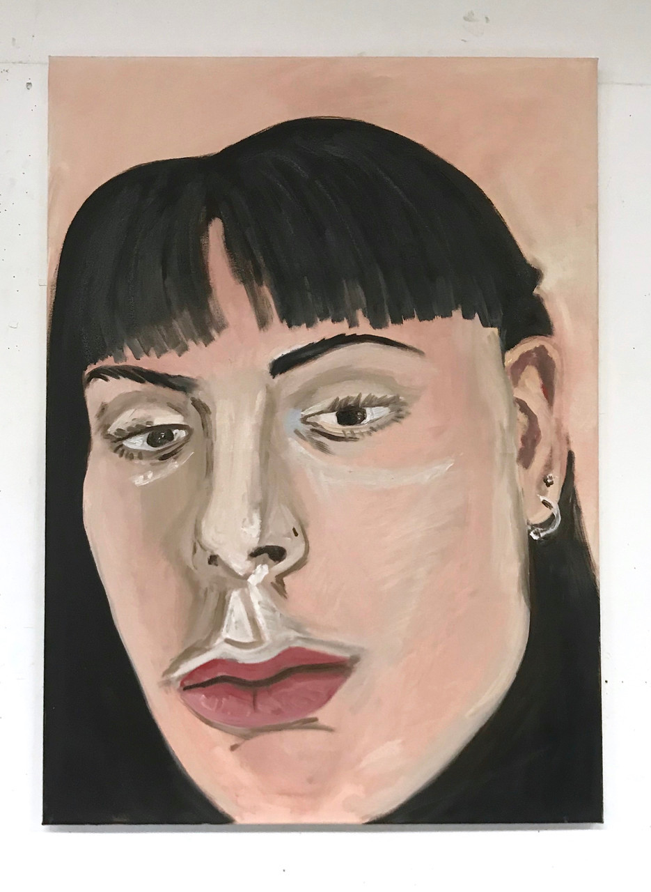 Self Portrait on Sunday