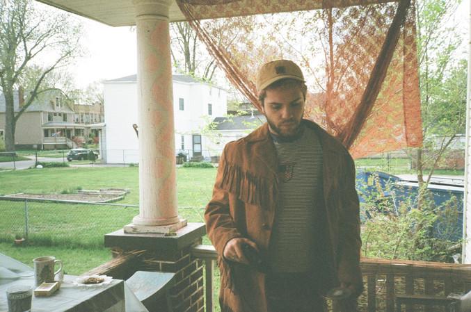 Ben on the porch