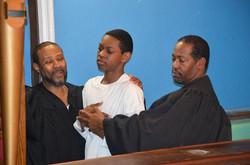 C J Jones Baptism