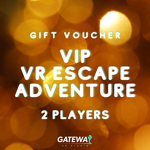 VIP Escape Adventure -  Gift Voucher for 2