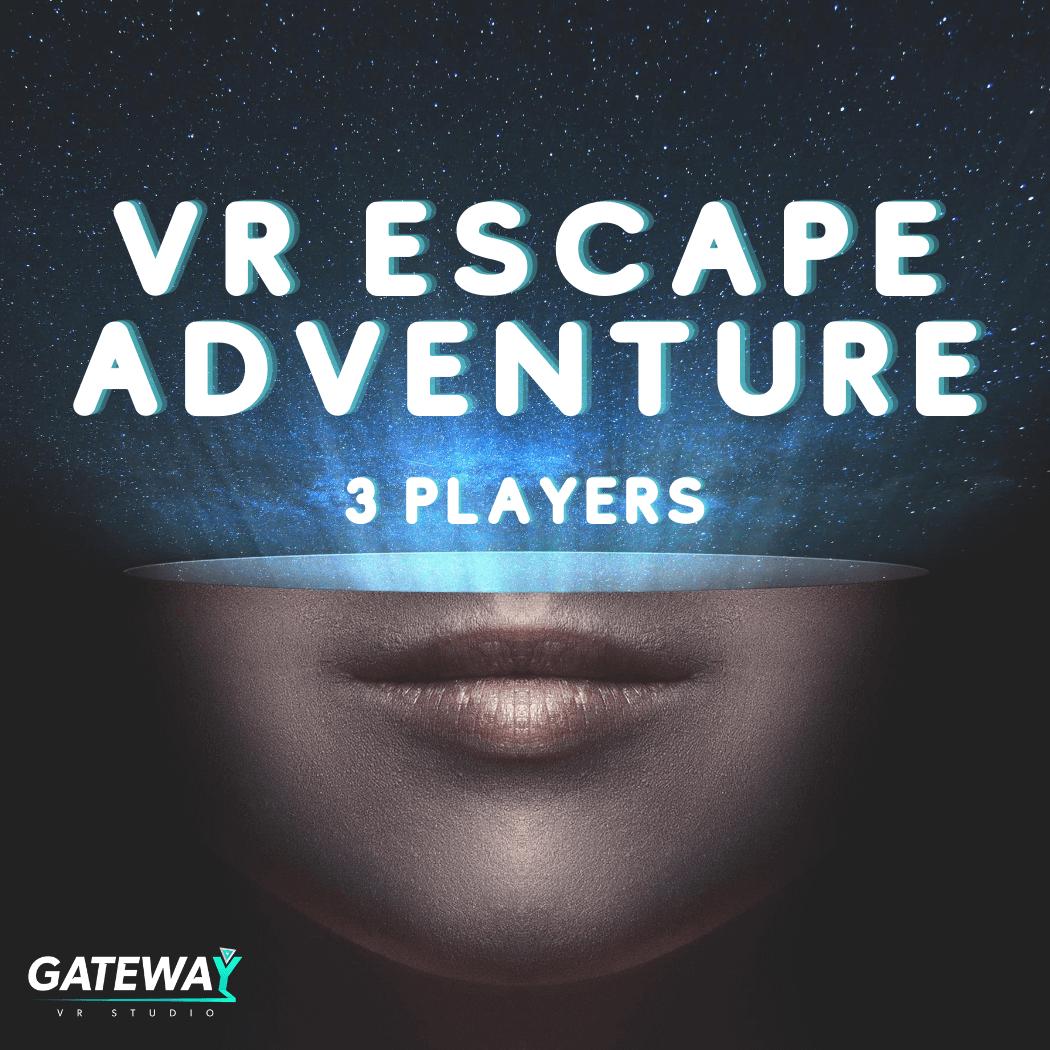 Virtual Escape Adventure - 3 Players