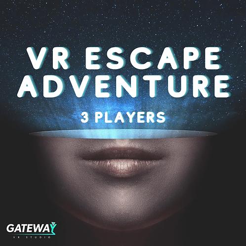 VR Escape Gift Voucher for 3