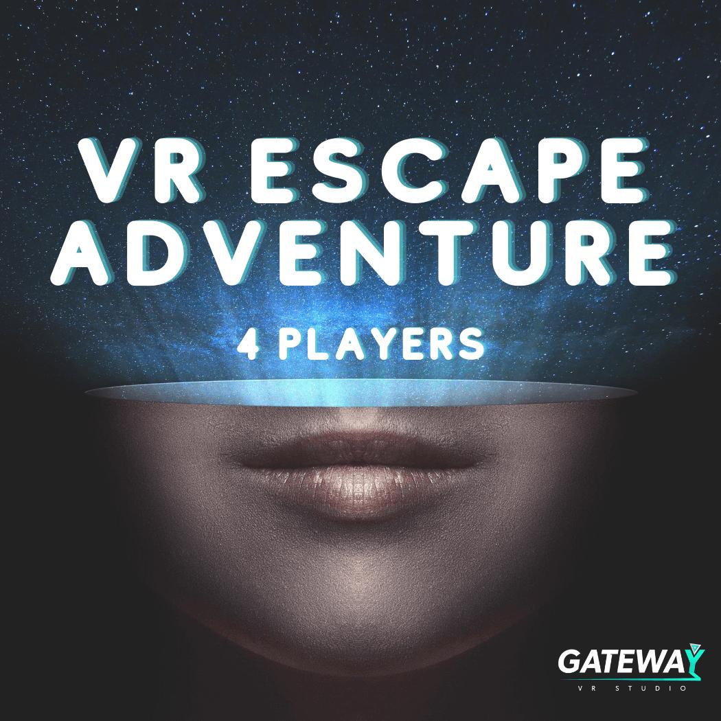 Virtual Escape Adventure - 4 Players
