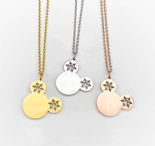 merry mouse necklace