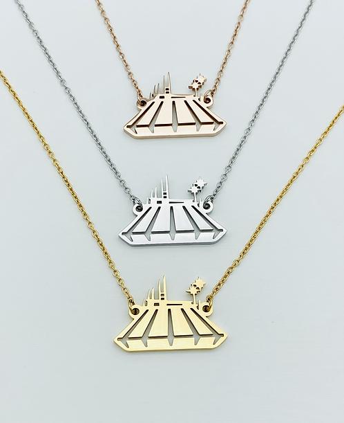 comet coaster necklace
