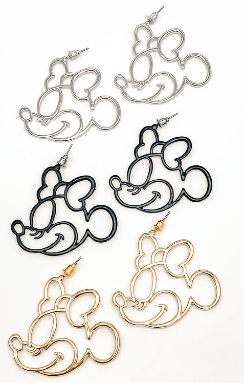 bow life earrings