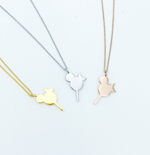 DIYthinker Cherry Heart Popsicle Sweet Ice Cream Necklace Antique Guitar Jewelry Music Pendant