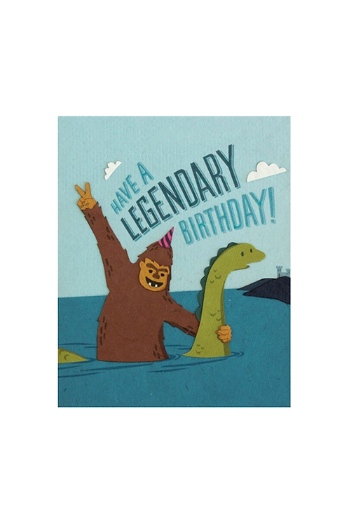 Legendary Birthday Card
