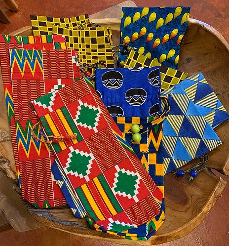 African Wine Bag
