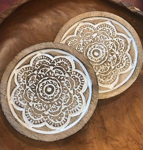 Mandala Trivet
