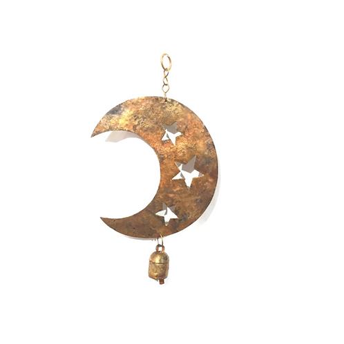 Star Cut Moon Chime
