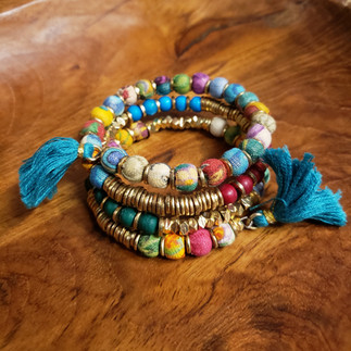 Sari Wrap Bracelet