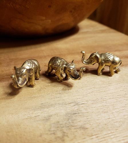 Brass Lucky Elephant