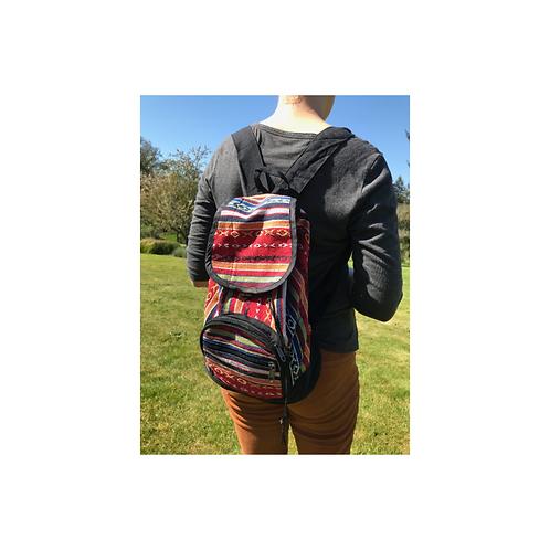 Small Gyari Cotton Backpack