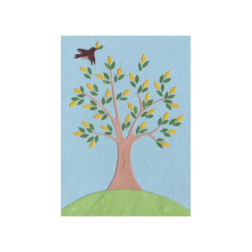 Peaceful Tree - Any Occasion Card