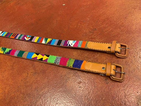 Multi-Colored Woven Belt