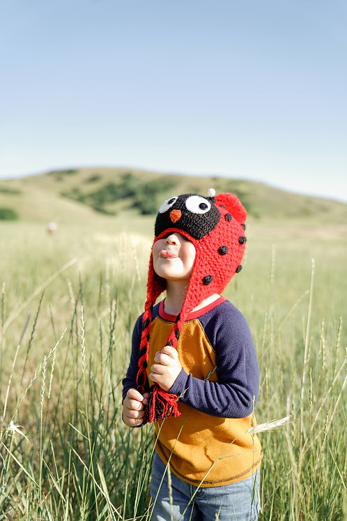 Kids Lady Bug Hat