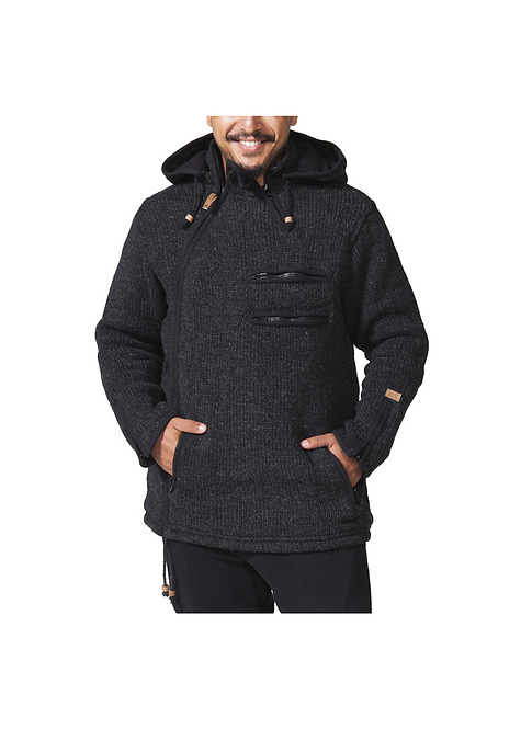 Metro Side Zip Cardigan