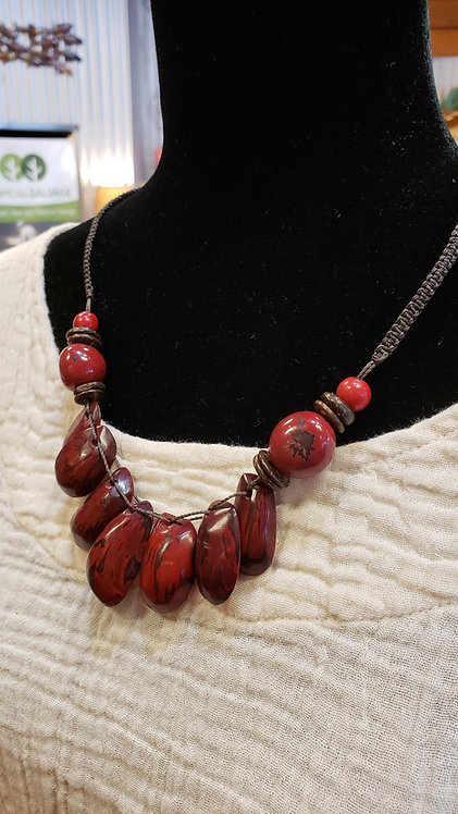 Tagua Nugget Necklace