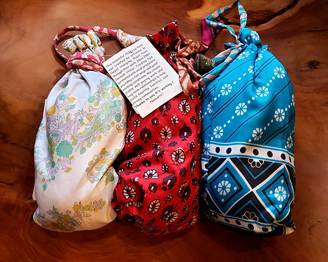 Wool Dryer Ball Set W/Gift Bag