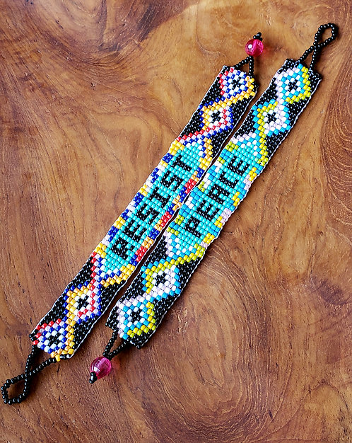 Peace/Resist Bracelets