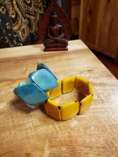 Chunky Tagua Nut Bracelets