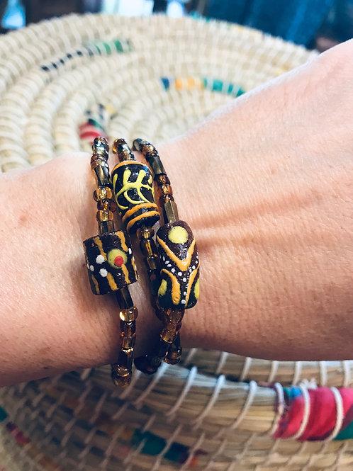 Art Bead Bracelet Set